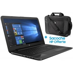 Pc portable HP 250 G4 / i3 4é Gén / 4 Go + Sacoche HP Originale