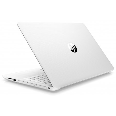 Pc portable HP 15-da0001nk / i3 7è Gén / 4 Go / Blanc