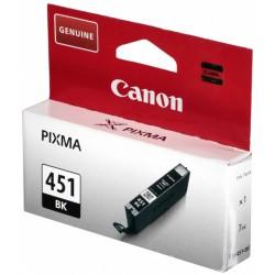 Cartouche Originale Canon CLI-451BK / Noir