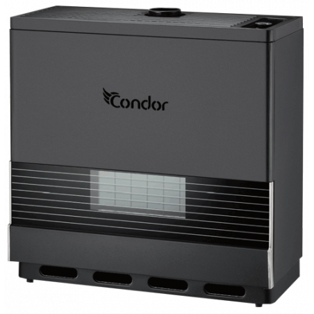 Chauffage à Gaz Condor / 10 000W / Noir