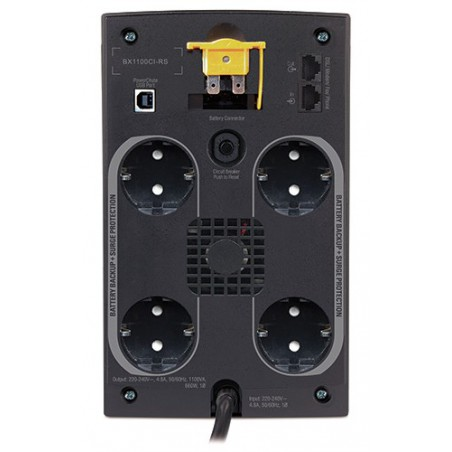 Back-UPS 1100VA avec AVR, Schuko 230V