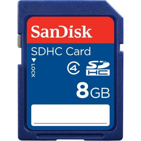 Sandisk SD Memory 8 Go