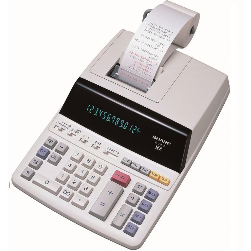 Calculatrice avec Imprimante Sharp EL-2607P