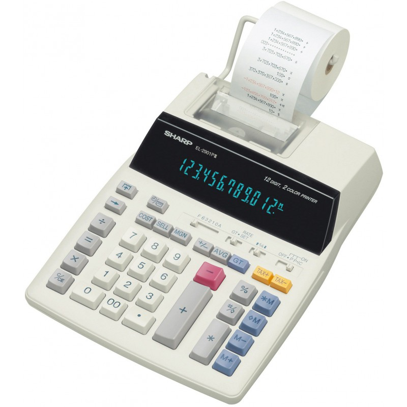 Calculatrice avec Imprimante Sharp EL-2901PIII