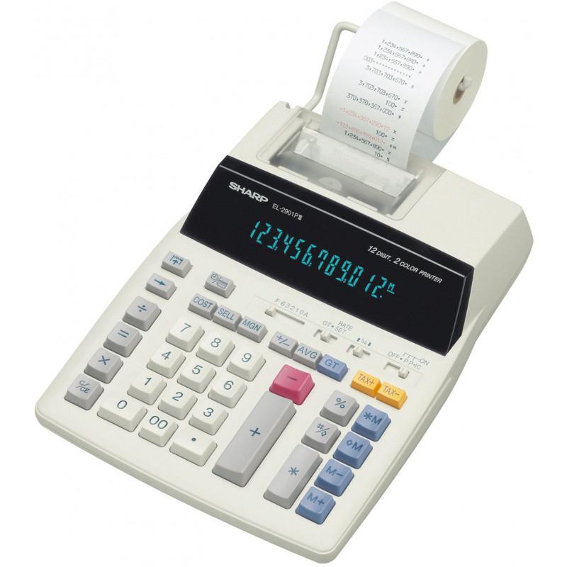 Calculatrice avec Imprimante Sharp EL-2901PIII