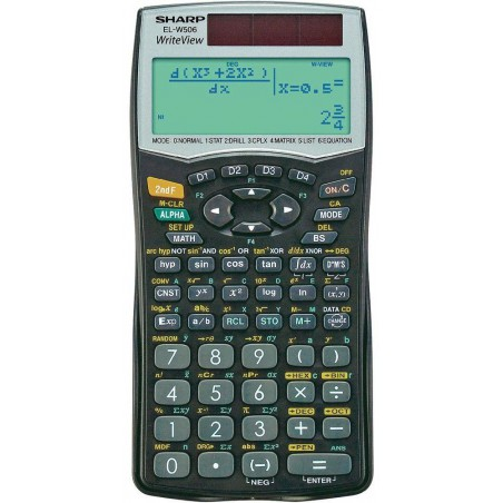 Calculatrice Scientifique EL-W506