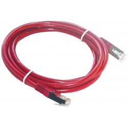 Câble RJ45 Cat6 SFTP 2M Rouge