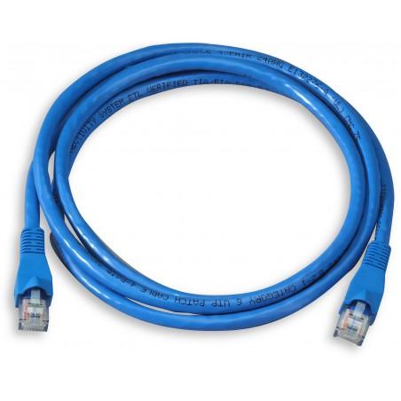 Câble RJ45 CAT6 SFTP 2M Bleu