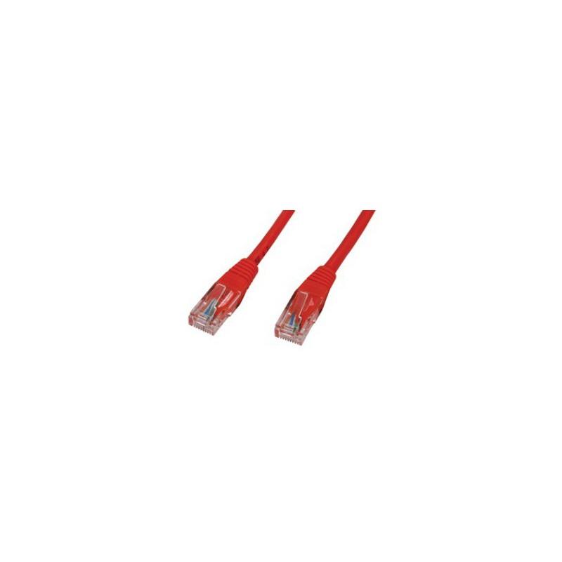 Câble RJ45 CAT 5E SFTP 1M Rouge