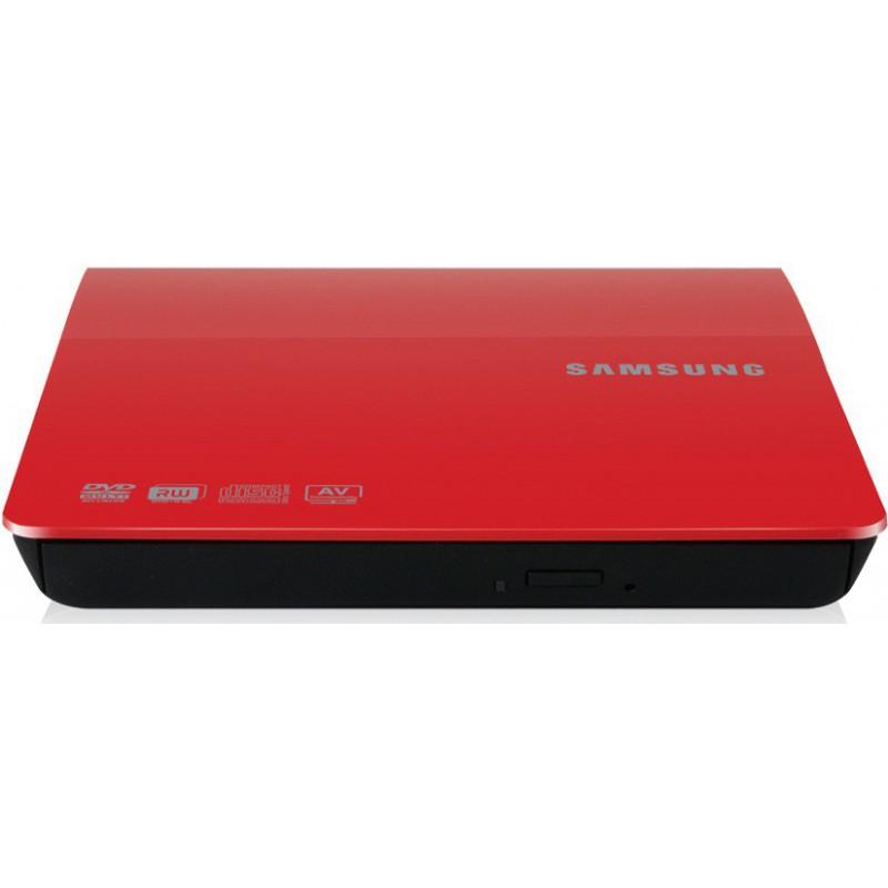 Graveur DVD externe Slim USB Rouge
