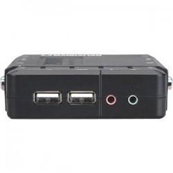 Commutateur KVM compact 4 ports