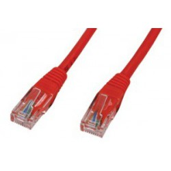 Câble RJ45 CAT 5E SFTP 3M Rouge