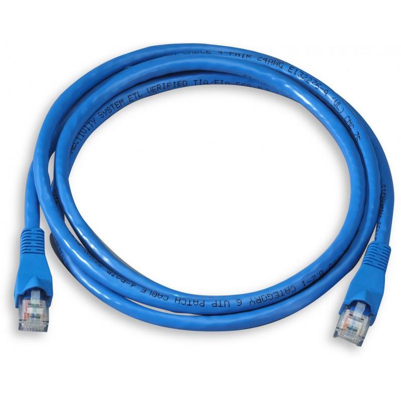 Câble RJ45 Cat 5E UTP 1M Bleu