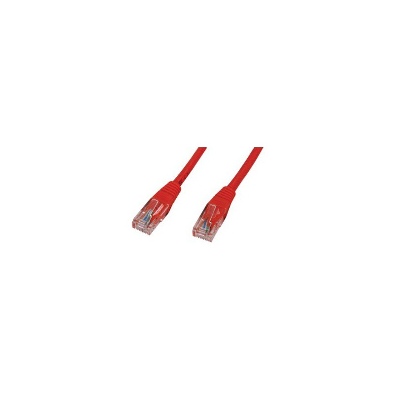 Câble RJ45 Cat6 UTP 1M Rouge
