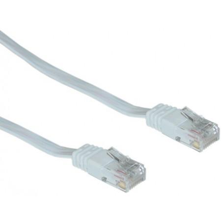 Câble Réseau Plat Cat6 10M Blanc