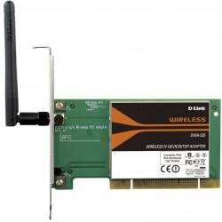 Adaptateur sans fil Wireless N 150 PCI pour ordinateur de bureau