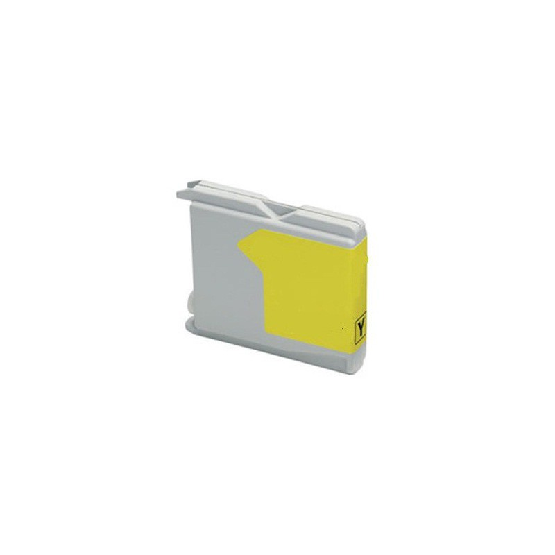 Cartouche Adaptable Brother L970-LC1000 / Jaune