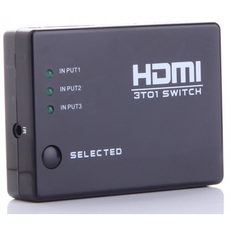 Switch HDMI 1 vers 3 Ports