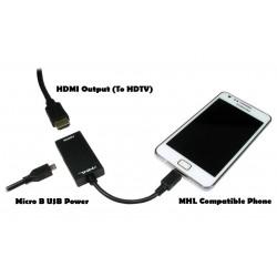 Adaptateur Micro USB Vers HDMI
