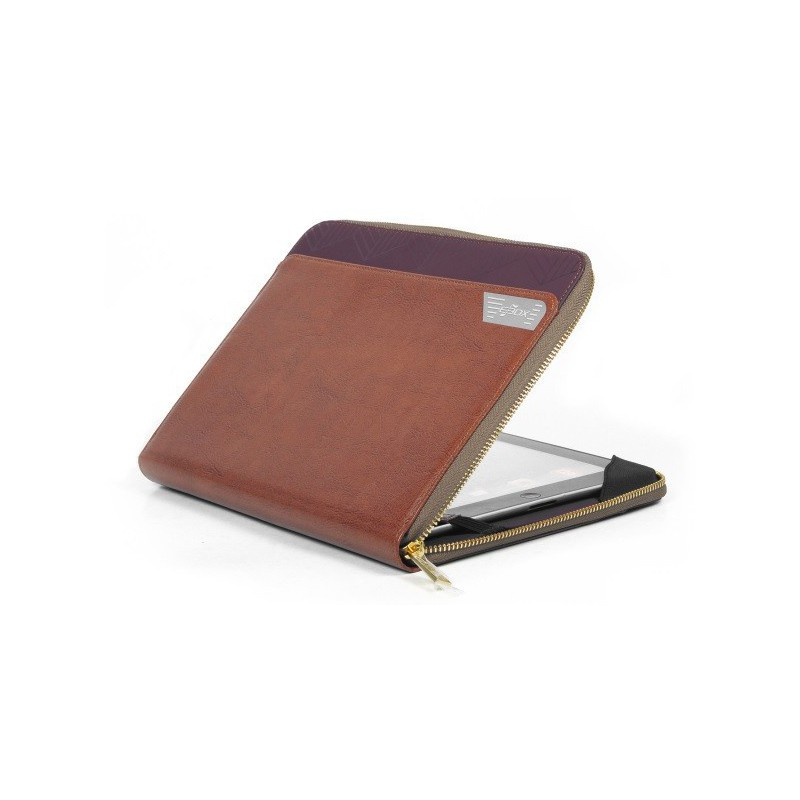 "Etui de protection Cuir Ebox pour tablette 7"" & iPad Mini"
