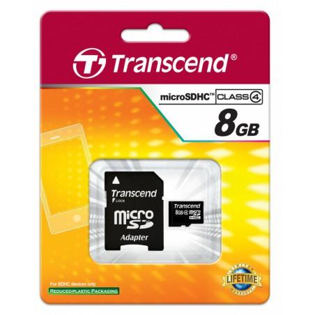Carte mémoire mico SDHC 8 Go + Adaptateur SD