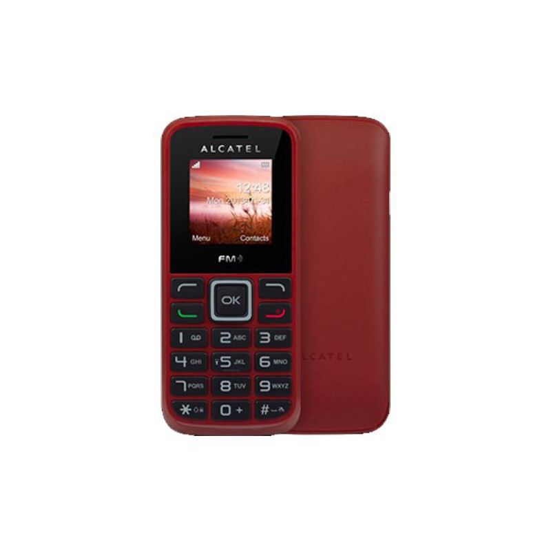 t l phone portable alcatel 1010 rouge. Black Bedroom Furniture Sets. Home Design Ideas