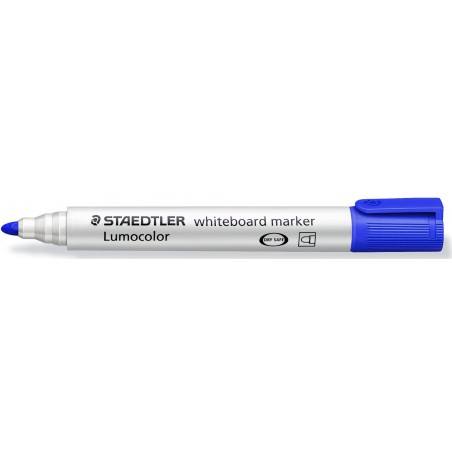 Marqueur pour tableaux blancs pointe ogive Bleu