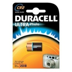 Pile Duracell Ultra Photo CR2 / 3V Pour Appareils Photos