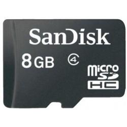 Carte Mémoire micro SDHC 8Go + Adaptateur