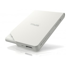 Disque Dur Externe Silicon Power Stream S03 / USB 3.0 / 1 To / Blanc