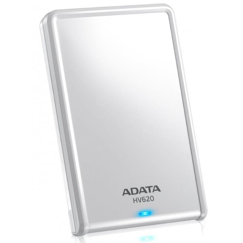 Disque Dur Externe Adata HV620 USB 3.0 / 1 To / Blanc