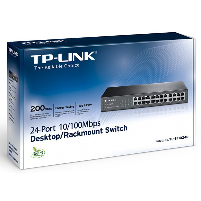 Switch TP-Link 24 ports 10/100Mbps