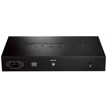 Switch Ethernet Gigabit D-Link 24Ports
