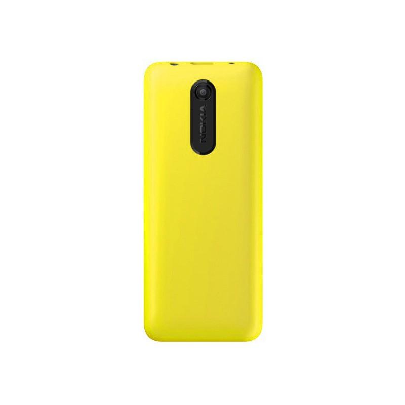 t l phone portable nokia 108 double sim jaune carte. Black Bedroom Furniture Sets. Home Design Ideas