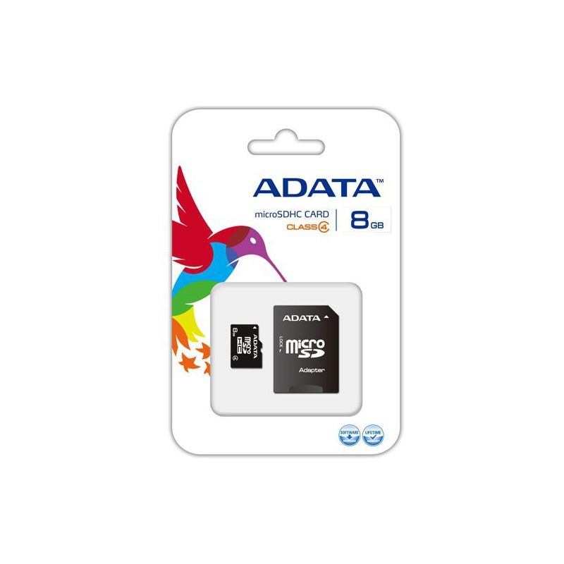 Carte mémoire Micro SD 8 Go Avec Adaptateur