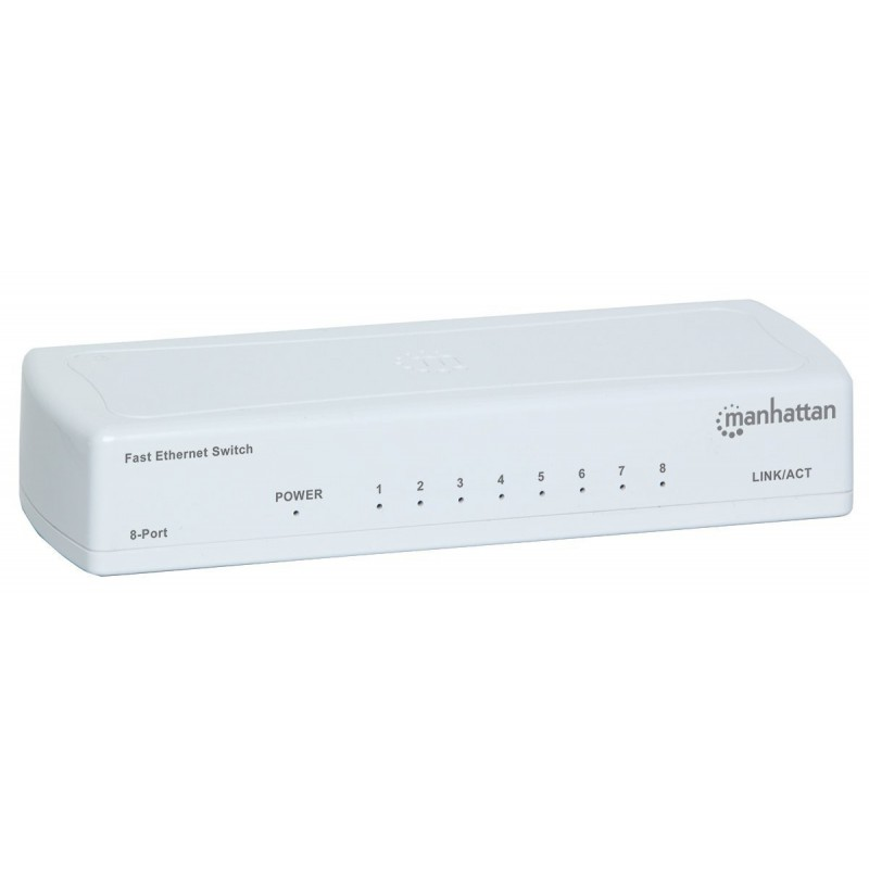 Switch Fast Ethernet 8 ports