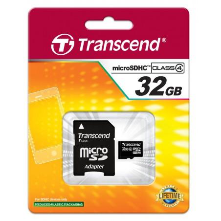 Carte mémoire mico SDHC 32 Go + Adaptateur SD