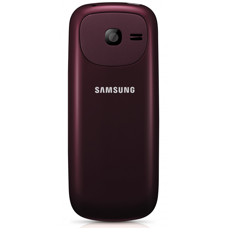 t l phone portable samsung e2202 double sim rouge. Black Bedroom Furniture Sets. Home Design Ideas