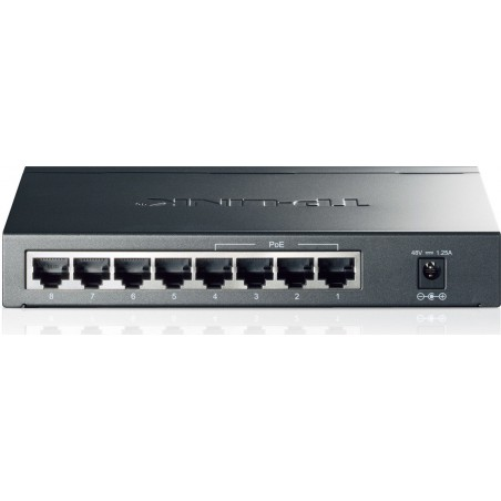 Switch de bureau 8 ports Gigabit / 4 Ports PoE