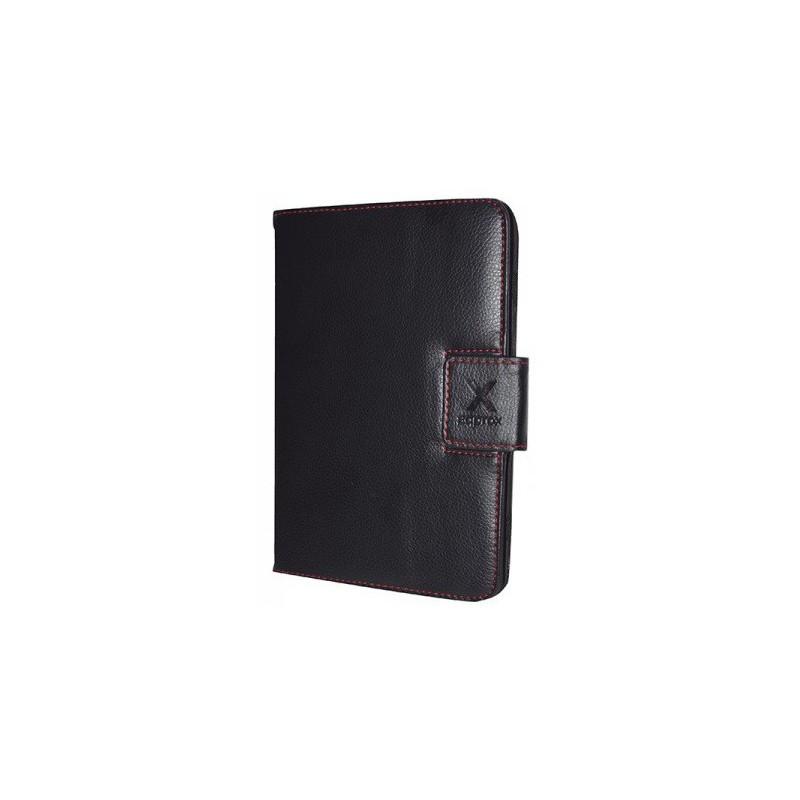 """Étui en cuir pour Tablettes de 7"""" / Noir"""
