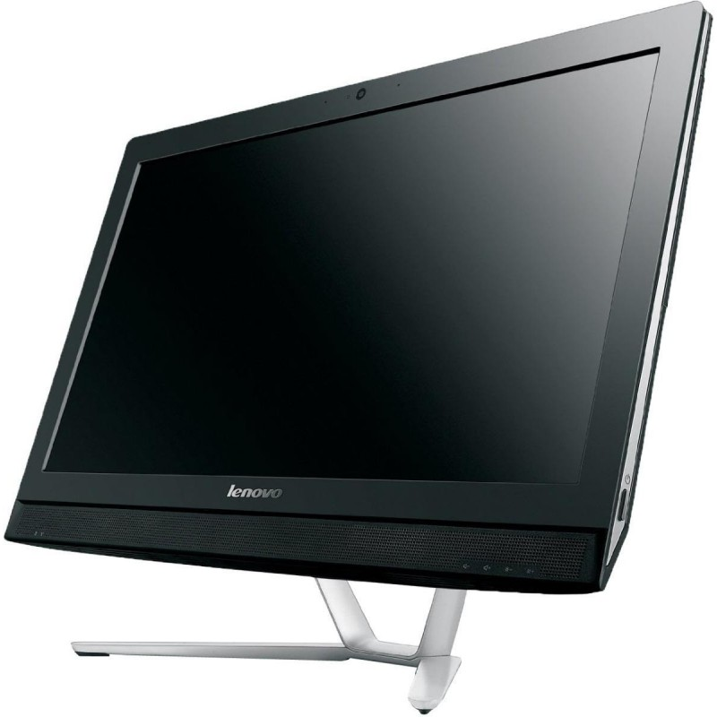 pc de bureau lenovo all in one c360 noir. Black Bedroom Furniture Sets. Home Design Ideas