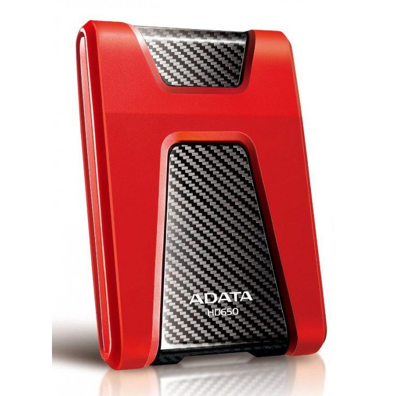 Disque dur externe Antichocs HD650 USB 3.0 / 1 To / Rouge