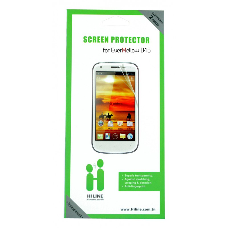 2xFilm de Protection Pour Evertek EverMellow D45