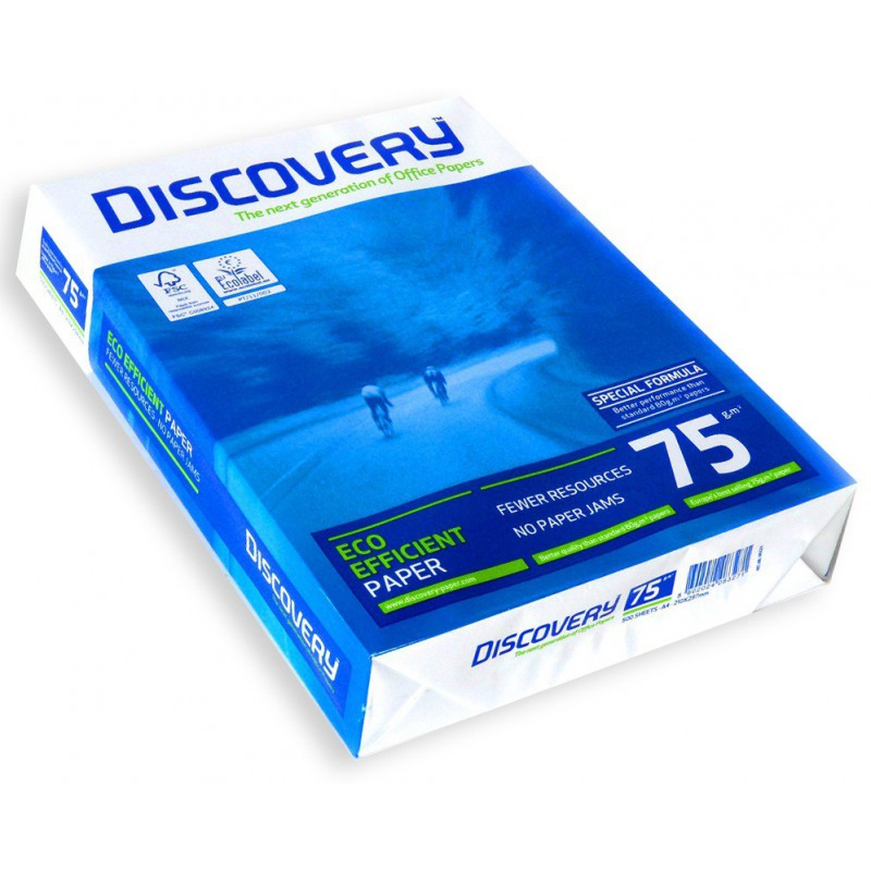 Rame papier A4 Discovery 75g/m²
