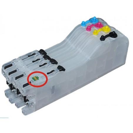 Kit pour imprimante avec puce