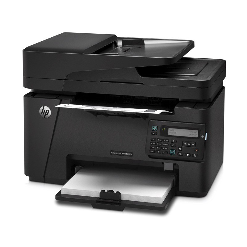 imprimante multifonction hp laserjet pro m127fn. Black Bedroom Furniture Sets. Home Design Ideas