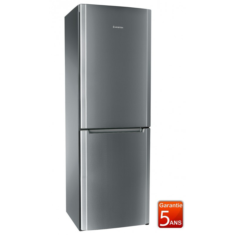 r frig rateur combin ariston no frost 390 l inox. Black Bedroom Furniture Sets. Home Design Ideas