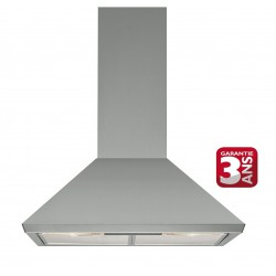 Hotte Ariston pyramidale 60 cm Inox