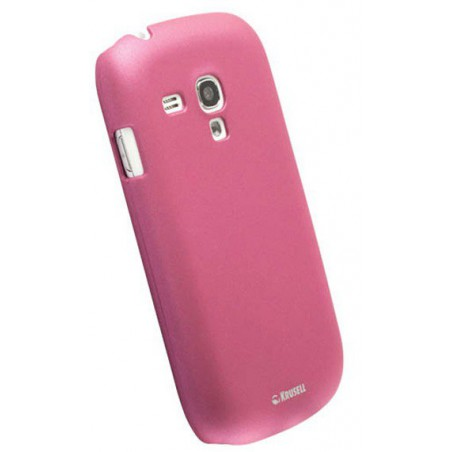 Coque Silicone Samsung Galaxy S3 Mini Rose