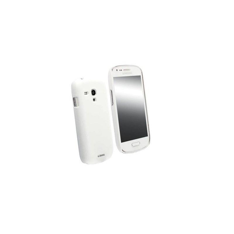 Coque Silicone Samsung Galaxy S3 Mini Blanc